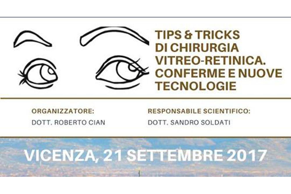 chirurgia vitreo-retinica Vicenza 21 settembre 2017